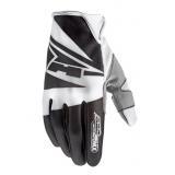 Motocrossové rukavice AXO SX čierno-biele vypredaj
