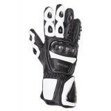 Rukavice na moto Tschul 285 čiernobiele vypredaj