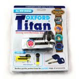 Zámok kotúčové brzdy Oxford Titan chrom