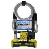 Zámok Oxford U profil Shackle 14 DUO žlto-čierny