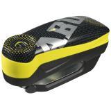 Zámok s alarmom na kotúč Abus Detecto 7000 RS1 žltý
