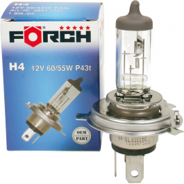 Žárovka FORCH H4 - 12V 60 55W
